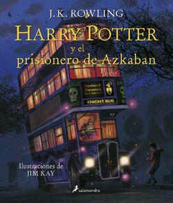 HP3 ilustrado portada español