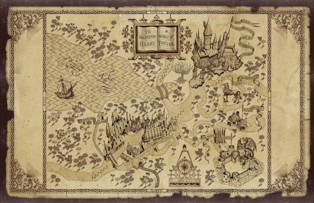 mapa harry potter Imagen   Mapa de The Wizarding World of Harry Potter.png | Harry  mapa harry potter