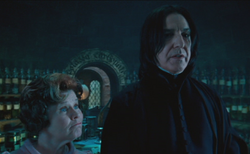 Umbridge y Snape