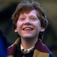 Ron smiling