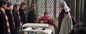 P2 Alumnos de Gryffindor en el Ala del Hospital