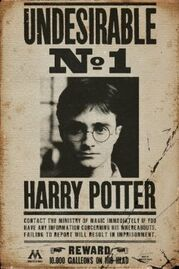 Harry-Potter-Indeseable-N-1-20x30-Pulgadas-Sala-Cartel-Poster-Decoración-Casa-Del-Cartel