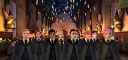 Estudiantes de Hogwarts Mystery