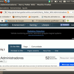 Página principal de la Harry Potter Wiki Portuguesa