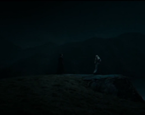 Reunión de Dumbledore y Snape