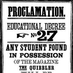 Decreto de enseñanza n.º 27