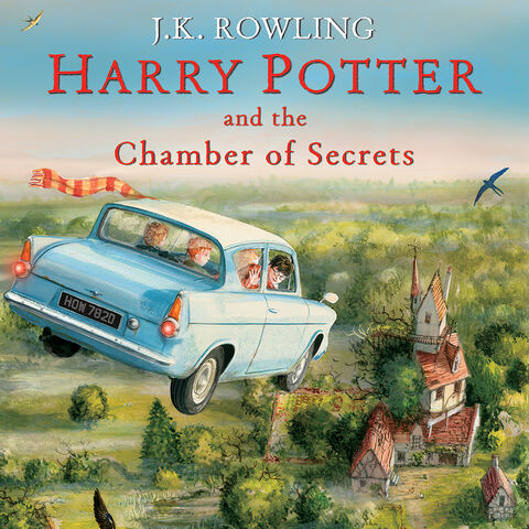 <i>Harry Potter and the Chamber of Secrets</i> (Illustrated)