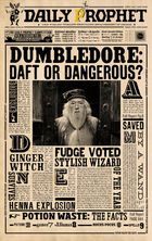 Dp dumbledore daft or dangerous