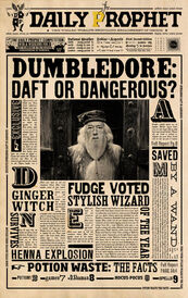 Dp dumbledore daft or dangerous