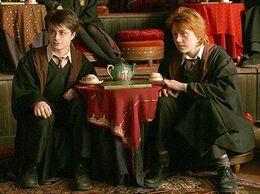 P3 Taseomancia Adivinación - Harry y Ron