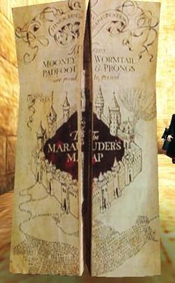 Mapa Del Merodeador Comprar.Mapa Del Merodeador Harry Potter Wiki Fandom