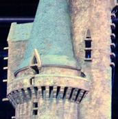 Almenas Torre Oeste Maqueta