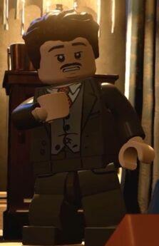 LD Jacob como figura LEGO