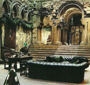 Slytherin common room COS UE booklet 1