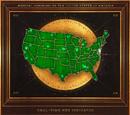 Mapa indicador de conjuros en tiempo real del MACUSA