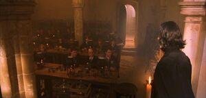 P1 Severus Snape Clase Pociones