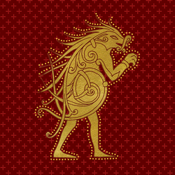 PM Ilvermorny House Crest Pukwudgie
