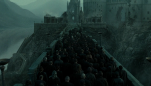 Death Eater Procession
