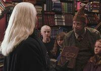 Draco, Lucius y Arthur