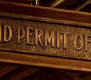 Oficina del permiso de varitas