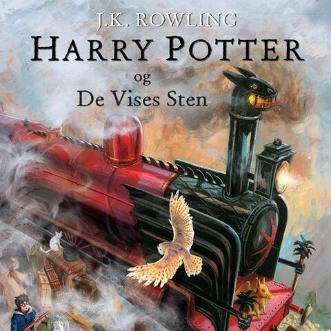 <i>Harry Potter og De Vises Sten</i> (Illustreret)