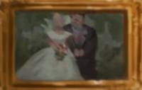 Foto de casamiento de los Dursley