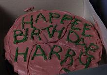 Hp1 Tarta de Harry