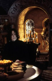 Snape en su oficina