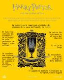 HP4 explicación portada Hufflepuff ES