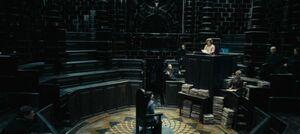 P7 Sala de juicios de la Comisión de Registro de Hijos de Muggles