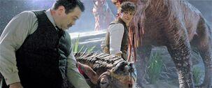 AF1 Jacob y Newt con los animales fantásticos
