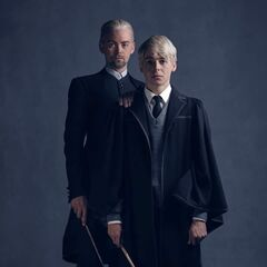 Draco y Scorpius Malfoy