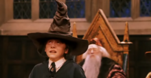 P1 Ron con el Sombrero Seleccionador