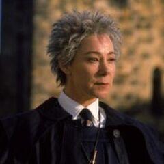 Rolanda Hooch, arbitro en los partidos de quidditch