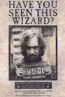 Sirius Black Cartel de Busqueda
