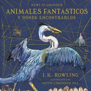 <i>Animales fantásticos y dónde encontrarlos</i> (ilustrado)