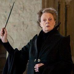 Minerva McGonagall, Transformaciones