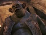 Primer troll de la montaña de Quirinus Quirrell
