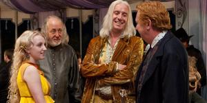 Xenophilius con Arthur Weasley
