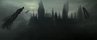 P8 Hogwarts rodeado de dementores
