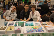 Ovi Nedelcu, Kazu Kibuishi and Amy Kim Ganter