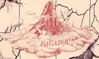 Uagadou mapa