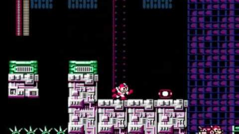 Mega Man 3 - Wily's Fortress Stage 2
