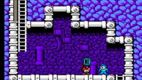 Mega Man 4 - Skull Man's Stage