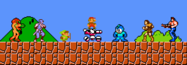 Super Mario Bros. Crossover Characters