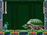Giant Turtle Robot Pelea