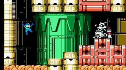 Mega Man 6 - Wind Man Stage Mechanical Tower