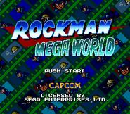 RockmanMegaWorldTitulo