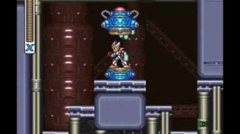 Mega Man X2 (15) X-Hunter Base 3 - Agile