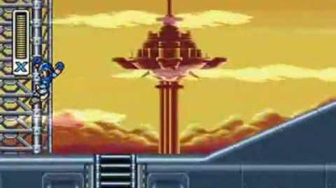 Mega Man X3 - Gravity Beetle Stage Airfield Fort